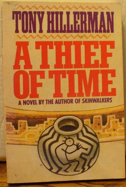 A Thief of Time. Tony Hillerman.