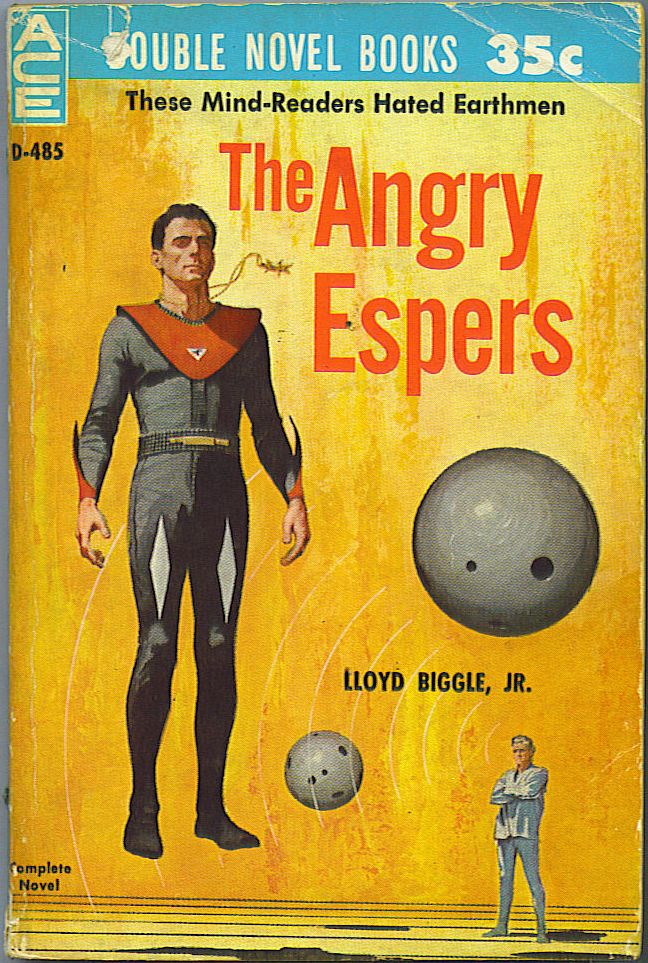 The Angry Espers / The Puzzle Planet. Lloyd Biggle, Jr., Robert A. W. Lowndes.