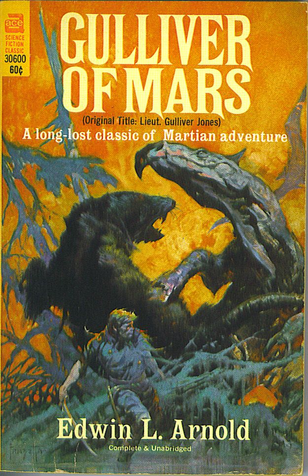 Gulliver of Mars. Edwin L. Arnold.