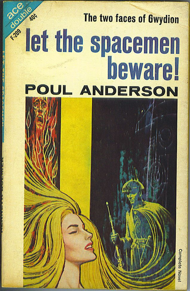 Let the Spacemen Beware! / The Wizard of Starship Poseidon | Poul Anderson,  Kenneth Bulmer | 1st Edition