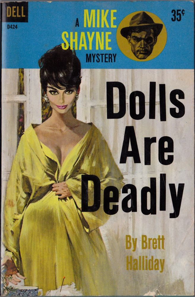 Dolls Are Deadly. Brett Halliday.