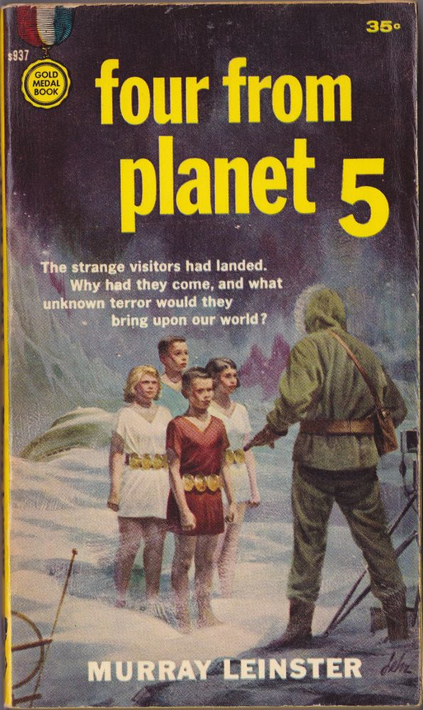 Four From Planet 5. Murray Leinster.