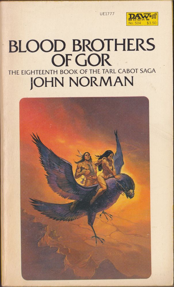 Blood Brothers of Gor. John Norman.