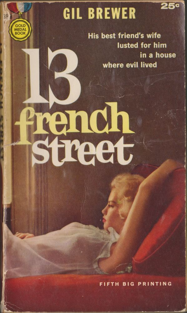 13 French Street. Gil Brewer.