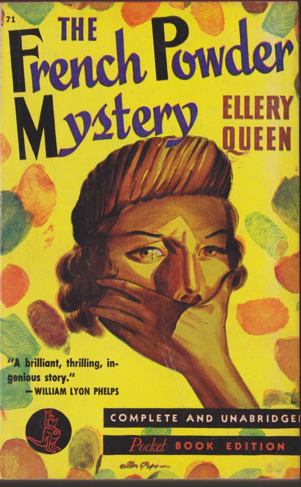 The French Powder Mystery. Ellery Queen.