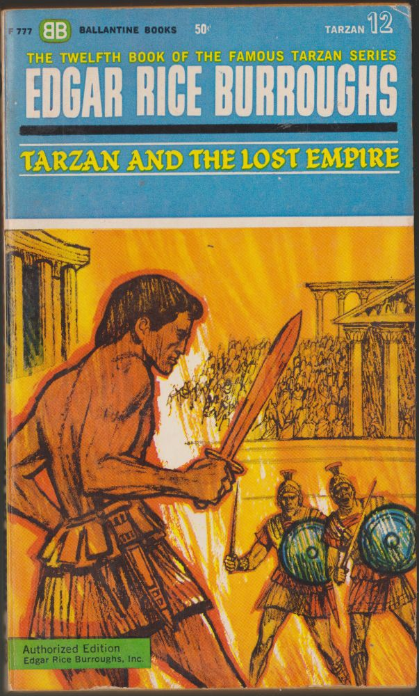 Tarzan and the Lost Empire (Tarzan 12). Edgar Rice Burroughs.