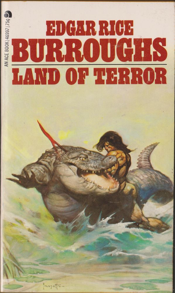 Land of Terror (Pellucidar 6). Edgar Rice Burroughs.