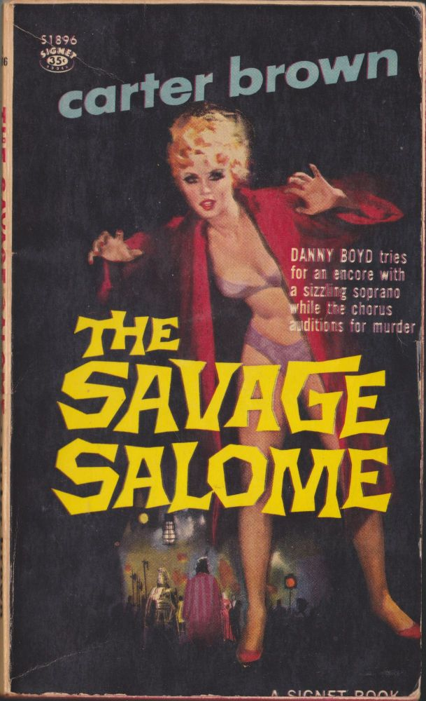 The Savage Salome. Carter Brown.