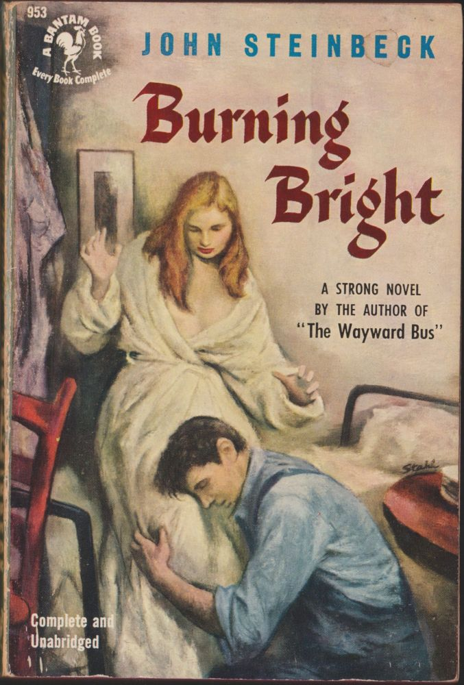Burning Bright, A Play in Story Form. John Steinbeck.