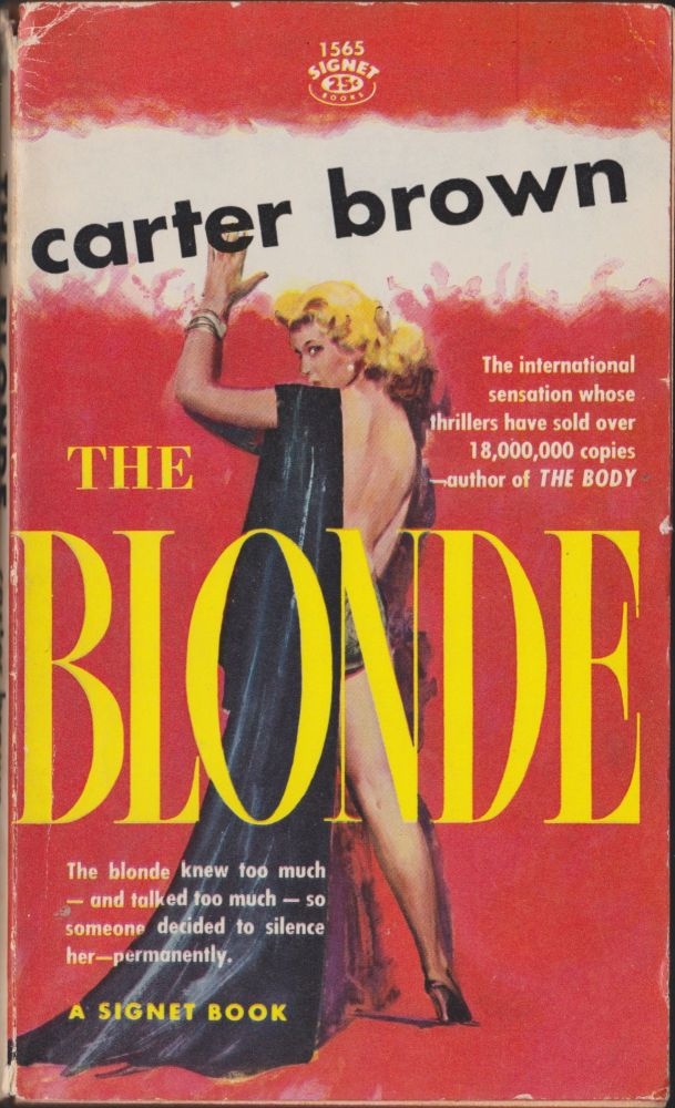 The Blonde. Carter Brown.