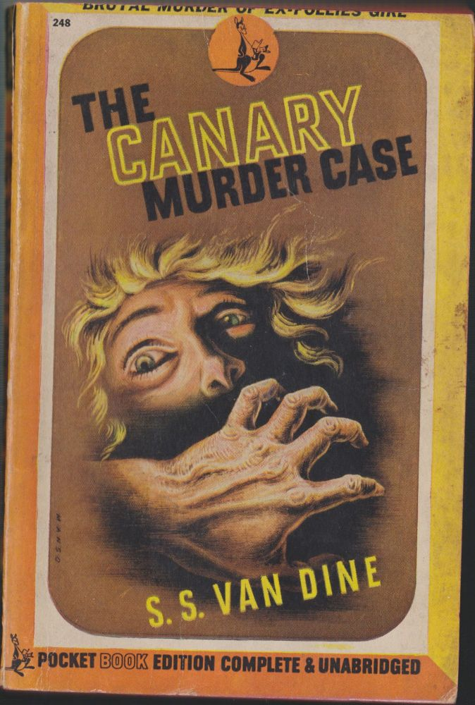 The Canary Murder Case. S. S. Van Dine, Willard Huntington Wright.