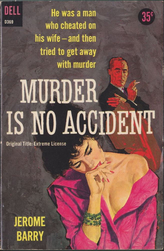 Murder Is No Accident. Jerome Barry.