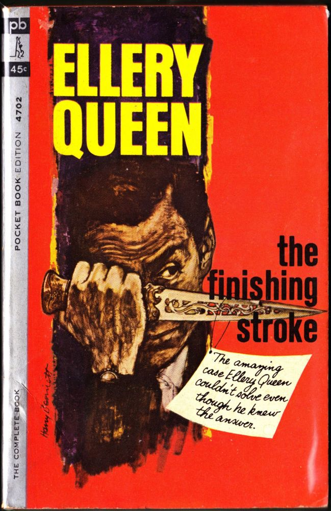 The Finishing Stroke. Ellery Queen.