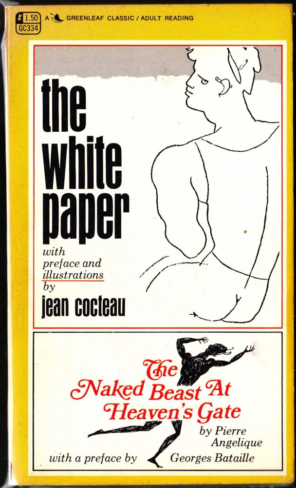 The White Paper / The Naked Beast at Heaven's Gate. Jean Cocteau, Pierre Angelique.