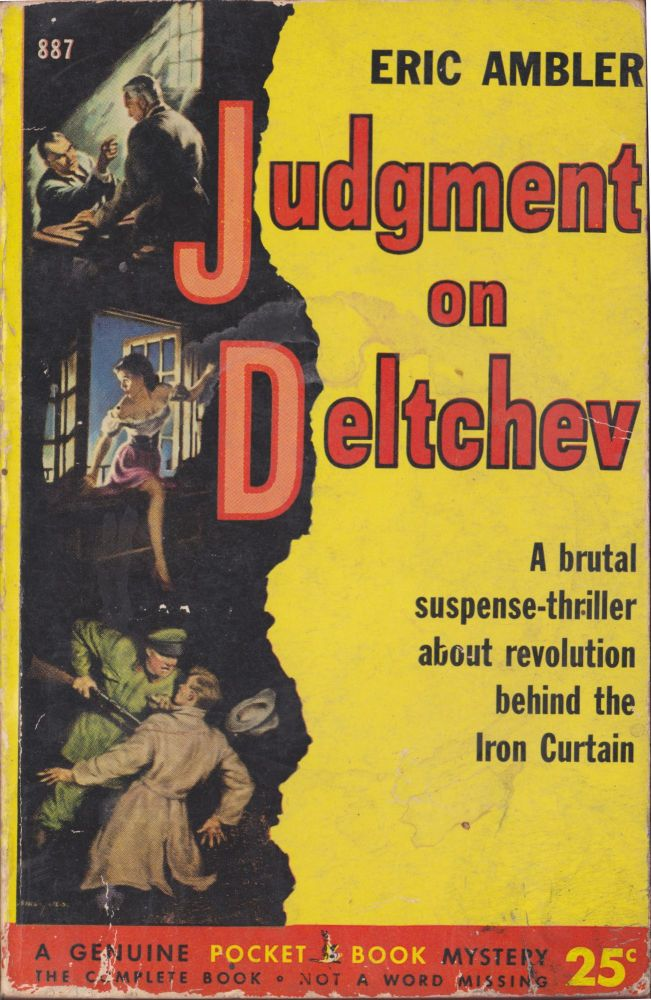 Judgment on Deltchev. Eric Ambler.