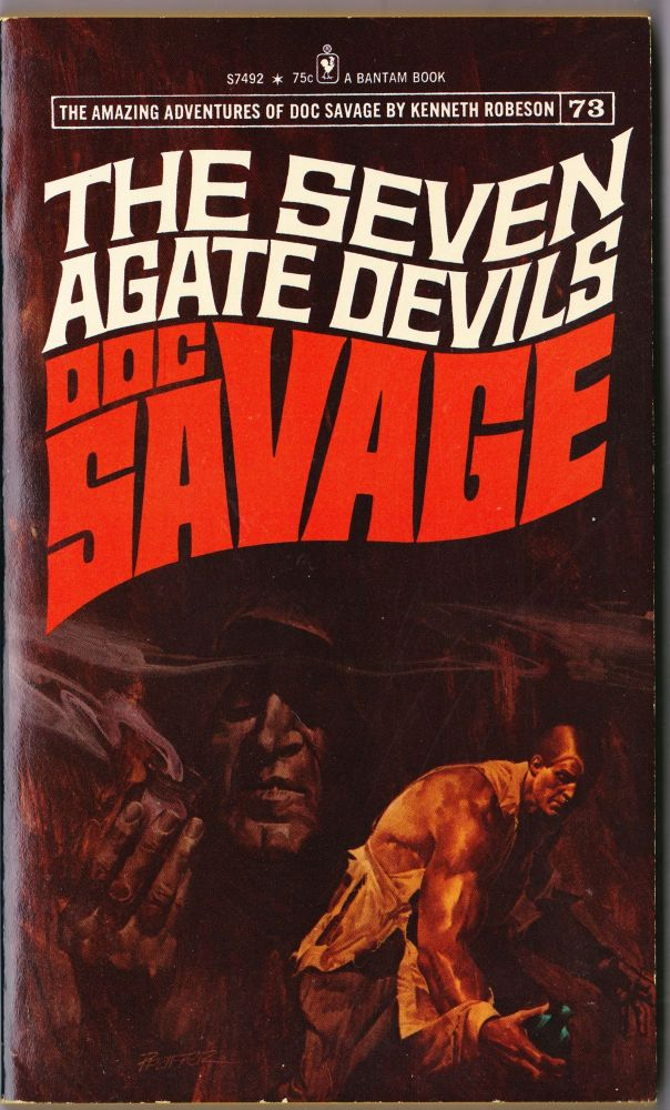 The Seven Agate Devils, a Doc Savage Adventure (Doc Savage #73). Kenneth Robeson.