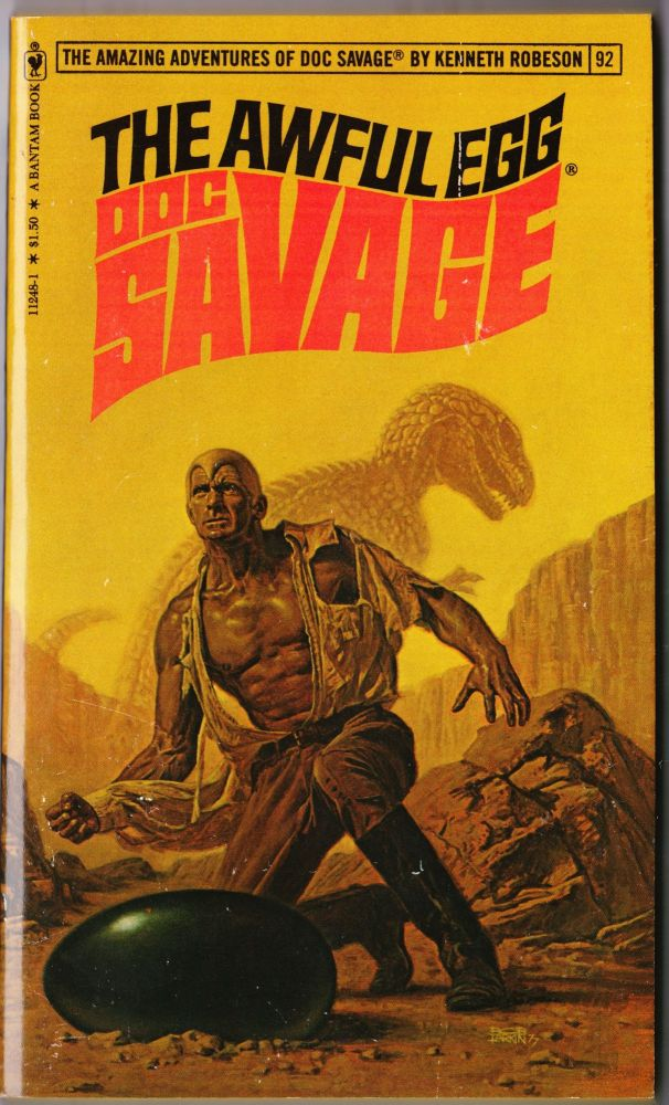 The Awful Egg, a Doc Savage Adventure Doc Savage #92 by Kenneth Robeson on  DP Paperbacks & Antiquarian Books