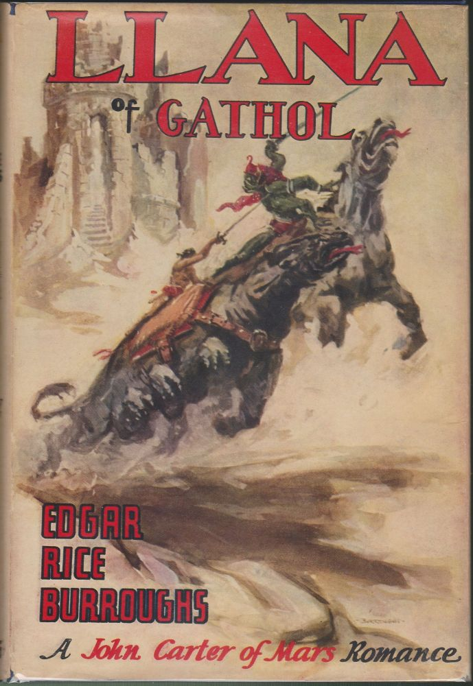 Llana of Gathol (Barsoom 10). Edgar Rice Burroughs.