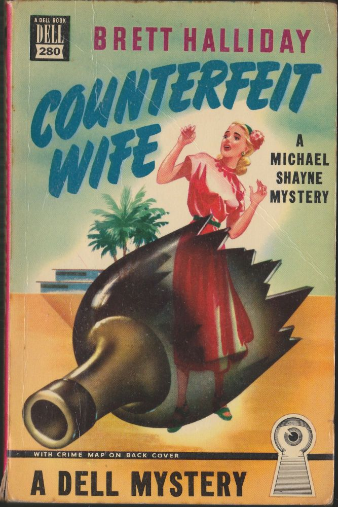 Counterfeit Wife. Brett Halliday.