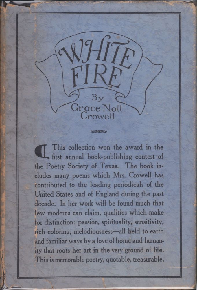 White Fire. Grace Noll Crowell.