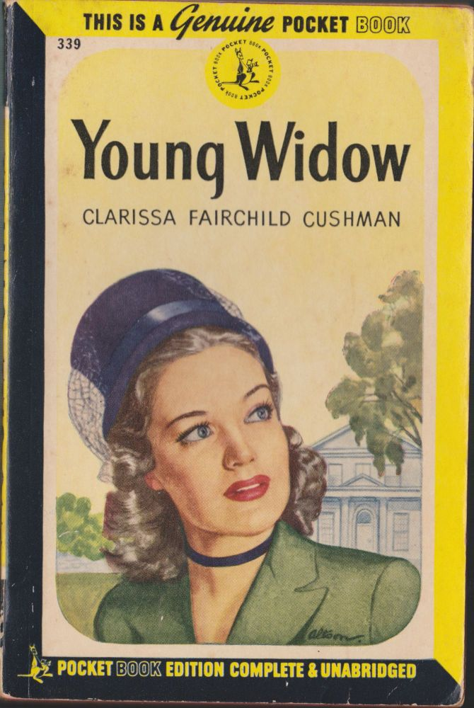Young Widow. Clarissa Fairchild Cushman.