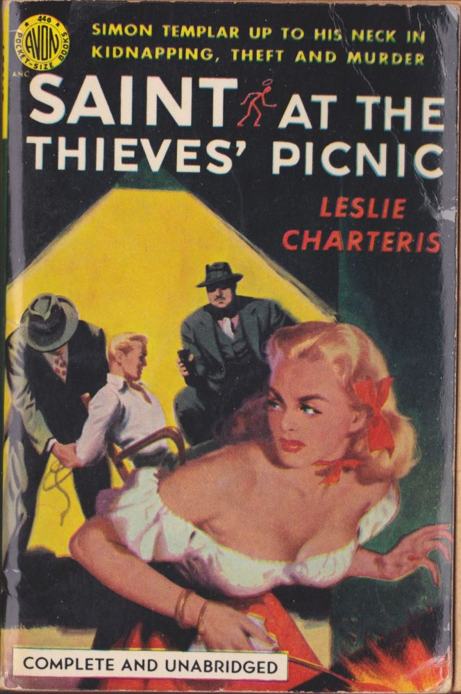 Saint At The Thieves' Picnic. Leslie Charteris.
