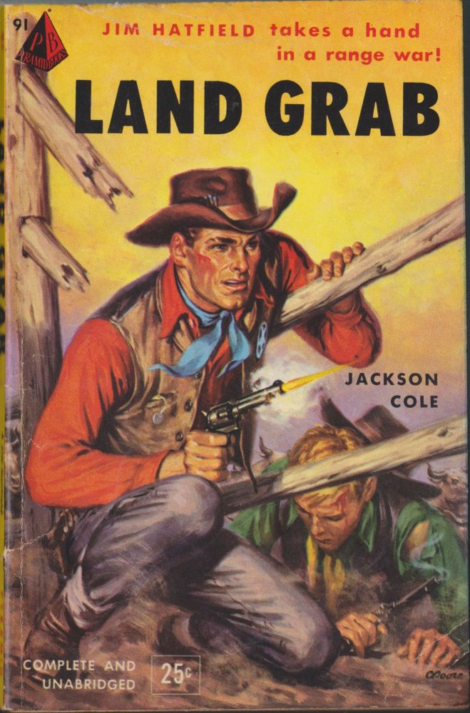 Land Grab. Jackson Cole.
