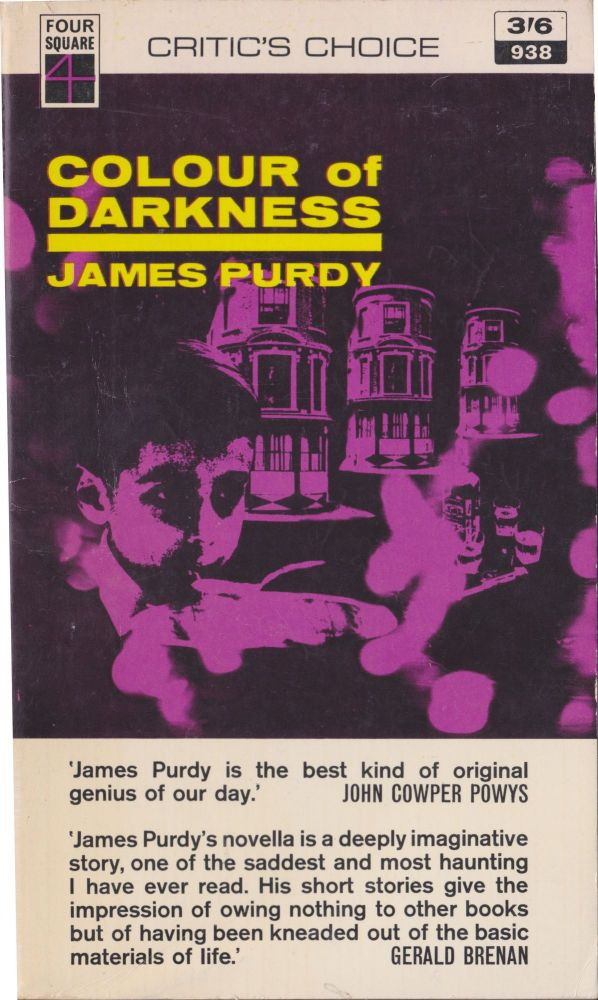 Colour Of Darkness. James Purdy.