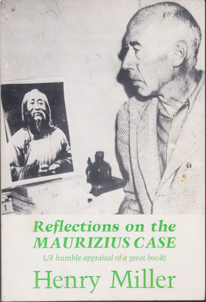 Reflections On The Maurizius Case. Henry Miller.