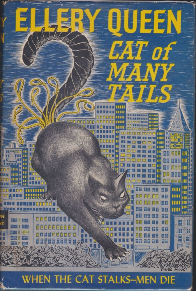 Cat Of Many Tails. Ellery Queen.