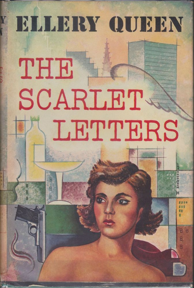 The Scarlet Letters. Ellery Queen.