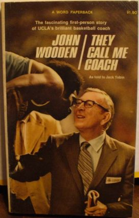 They Call Me Coach. John Wooden, Jack Tobin.