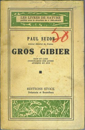 Gros Gibier (Big Game). Paul Suzor, Consul General de France