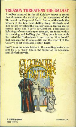 The Clockwork Traitor (The Family D'Alembert Series 3)