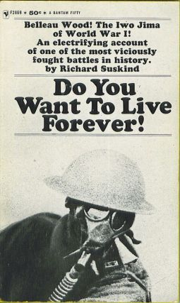 Do You Want To Live Forever! Richard Suskind