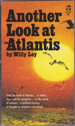 Another Look At Atlantis. Willy Ley