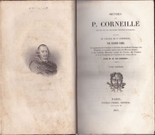 Corneille Oeuvres Completes (6 volumes, Vols. 1-6)