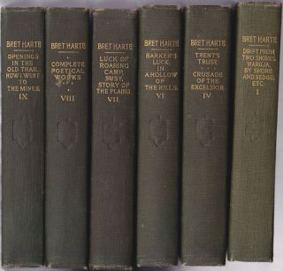 The Works of Bret Harte Argonaut Edition (18 of 25 Volumes). Bret Harte.