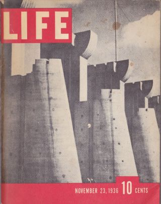 Life November 23, 1936 Volume 1 Number 1 (Miniature Version). of Life Magazine