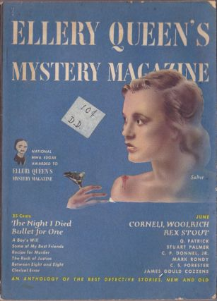 Ellery Queen's Mystery Magazine June 1950. Ellery Queen