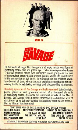 Fortress of Solitude, a Doc Savage Adventure (Doc Savage #23)