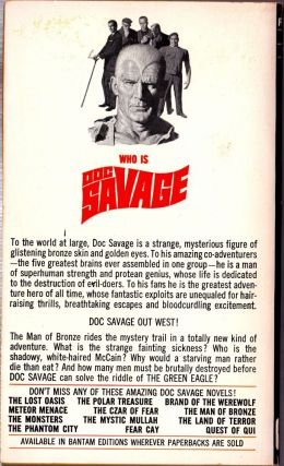 The Green Eagle, a Doc Savage Adventure (Doc Savage #24)