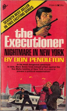 The Executioner: Nightmare In New York. Don Pendleton.
