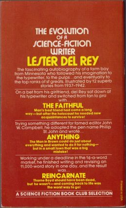 The Early Del Rey Volume 1