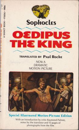 Oedipus the King. Sophocles, Paul Rocke