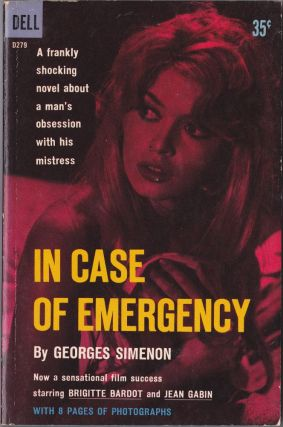 In Case of Emergency. Georges Simenon