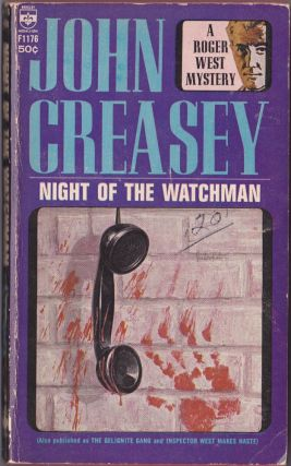 Night of the Watchman. John Creasey.
