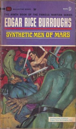 Synthetic Men of Mars (Mars 9). Edgar Rice Burroughs