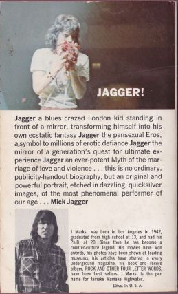 Mick Jagger: the Singer Not the Song
