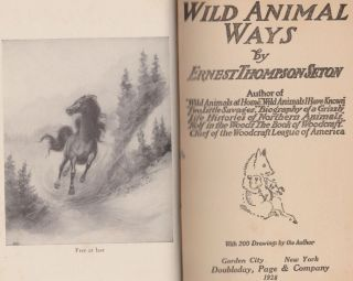 Wild Animal Ways (The Library of Pioneering and Woodcraft Vol. II)